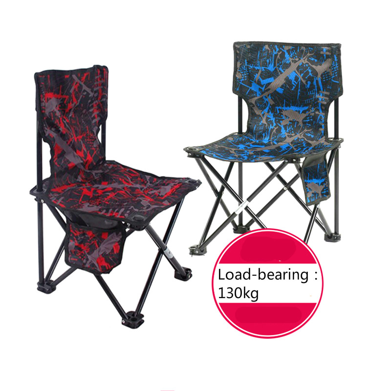 Fishing chair camouflage folding fishing outdoor portable leisure backrest art sketch chair sketch stool outdoor traveling camping tripod folding stool chair foldable fishing chairs portable fishing mate fold metal chair