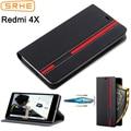 Xiaomi Redmi 4X Case Flip Cover For Redmi4X Leather Silicone Cover Case For Xiaomi Redmi 4X Pro Prime With Card Slot Holder