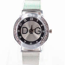 Relogio Feminino Clock Stainless Steel Casual rhinestone Quartz women watches Reloj Hombre
