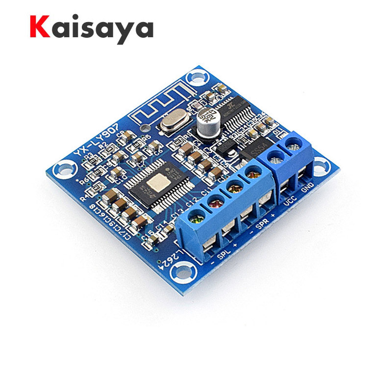 Mini 2x50W  DC 12-24V TPA3116D2 Bluetooth Class D Audio Stereo Digital Amplifier Board A4-020