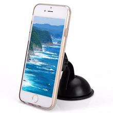 Strong Magnet Car Phone Holder 360 Degree Rotation Long Arm Windshield Mount Bracket Stand with Suction Cup adjustable holder h39 360 degree rotation holder mount bracket w suction cup for samsung galaxy note 3 n9006 black