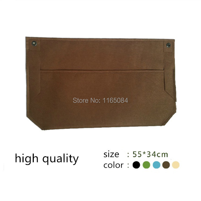 2 pcs Garden Planter Wall-mounted Polyester Home Gardening Flower Planting  Bags Living Indoor Wall Planter55 34cm 65f973d6555fe