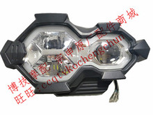LED Headlight Lens Headlamp Signal Head light For ZONGSHEN RX3S ZS500GY ZS400GY 2 RX4 Motorcycle parts