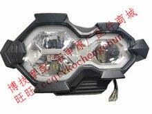 LED Koplamp Lens Koplamp Signal Head light Voor ZONGSHEN RX3S ZS500GY ZS400GY 2 RX4 Motorfiets onderdelen