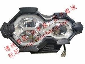 Image 1 - مصباح أمامي LED لمصباح إشارة الرأس الأمامي لأجزاء الدراجة النارية ZONGSHEN RX3S ZS500GY ZS400GY 2 RX4