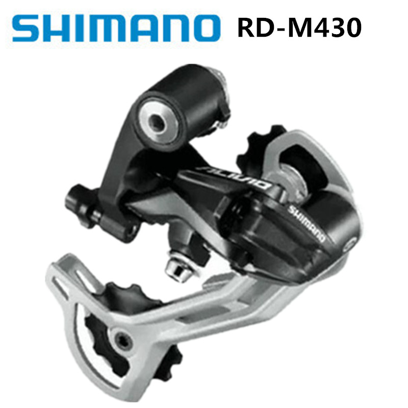 Sports & Entertainment Bicycle Derailleur Strong-Willed Shimano Alivio Rd-m430 Rear Dial 9s/27 Speed Mountain Bike Rear Derailleur Brand New Original Black Luxuriant In Design
