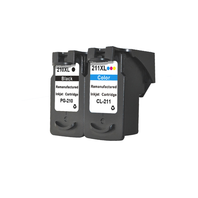2pcs Ink Cartridge For Canon PG210 CL211 Pixma IP2702 MP240 MP250 MP270 MP490 MX320 MX340 Printer Cartridges PG 210 CL 211 In From