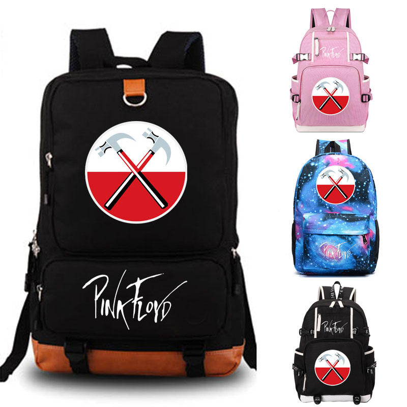 pink floyd school bag Game backpack student school bag Daily backpack men women Rucksack Notebook backpack