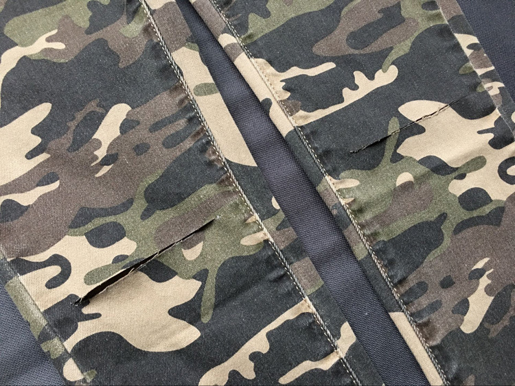 2017 New Brand Women Fitness Cloth Camouflage High Waist Elastic Stretch Holes Jeans Pencil Pants Street Style Denim Trousers (21)