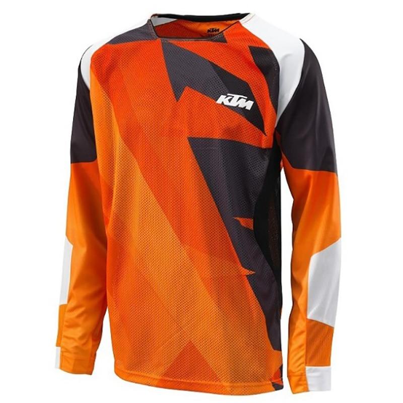 2017 Motorcycle <font><b>Jerseys</b></font> Moto XC Motorcycle GP Mountain Bike Motocross <font><b>Jersey</b></font> XC BMX DH MTB T Shirt Clothes XS TO 5XL
