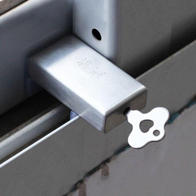 Window Stopper Baby Safety Window Restrictor Cabinet Latch Locks Anti-Theft Metal Door Stopper Sliding & Window Stopper Baby Safety Window Restrictor Cabinet Latch Locks ...
