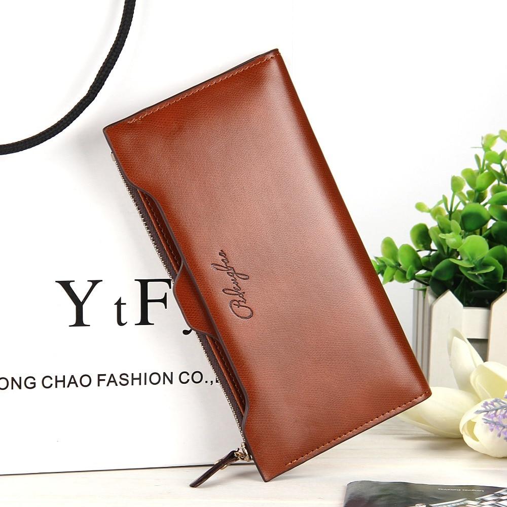 couro multifunções portátil carteiras longas, Tipo : Female Wallets/coin Pursess Card Holders