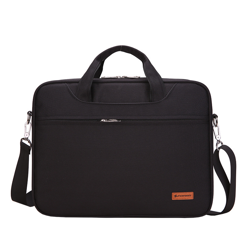 New Waterproof Crushproof 14 15inch Notebook Computer Laptop Bag for Men Women Briefcase Shoulder Messenger Bag