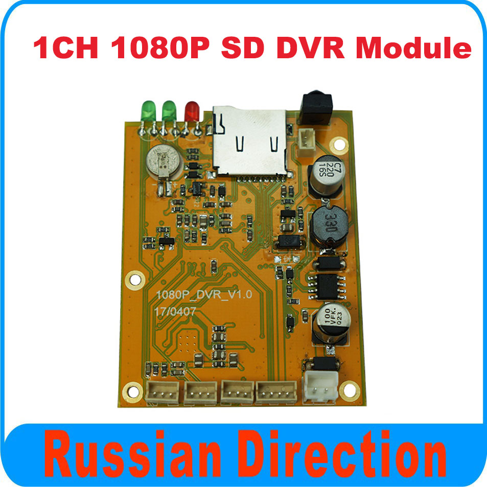 New arrival,1CH 1080P SD DVR PCBA board,Support OEM, 1080P TVI camera used, model BD-3118 from Brandoo new arrival 1 channel 1080p sd dvr golden dvr works with tvi hd camera 128gb tf memory motion detection brandoo bd 3118