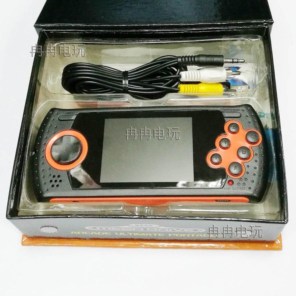Portable Spielkonsolen Offen 1 Stücke 2,8 Inch Lcd Kinder Video Spiele Spielzeug Handheld Game Player Portable Spielkonsole Für Sega Bulit In 15 Spiele Freies Sd Karte