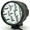 Новый дизайн 8T6 12000LM 8 x XM-L T6 светодиодный велосипедный фонарь 5 режимов/3 режима с 8 4 в батарейный блок + зарядное устройство