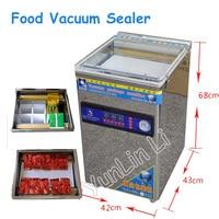 Stainless Steel Food Vacuum Sealer Bag Packing Machine Desktop Double Pump Vacuum Packing Sealing Machine YMX-958-06L