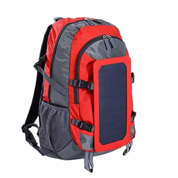 Solar Backpack With Removable Solar Panel