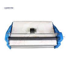 New Arrival High Capacity Wallpaper Gluing Machine 53cm Stainless Steel Glue 3 Seconds / Meter