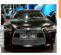 Front Center Grill Grid Grille Cover Trim Stainless Steel 304  For 2010  2011 2012  For  Mitsubishi  Lancer EX