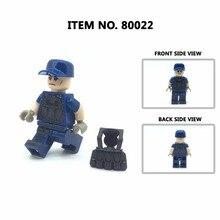 Figuras Blocos de construção única Venda Militar, Soldados Do Exército Moderno Tijolos Brinquedos para As Crianças, DIY Brinquedo de Construção
