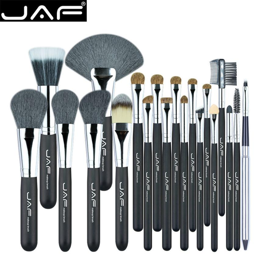 20 PCS Makeup Brush Set Professional Makeup Brushes Cosmetics Blending Brush Tool maquiagem Dropship Feb 2 4 pcs golden professional makeup brushes waistline sculpting brush set cosmetic tool maquiagem accessories with original box