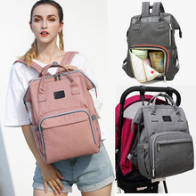 Baby Diaper Bag for stroller Interface Large Capacity Mummy Baby Bag Waterproof Backpack Nursing Bag For baby carriage Care