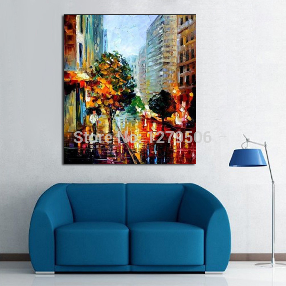 100 Handpainted Abstract Wall Decor Knife Thick Oil Painting On Canvas As Best Gift Wall Picture For Living Room Decor in Painting Calligraphy from Home Garden