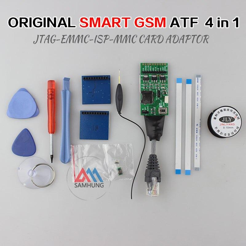 100 Original product ATF box JTAG EMMC ISP MMC CARD ATF V2 All in 1 Ultimate
