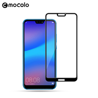 2018 Mocolo New Arrival 5D Screen Protector Glass For Huawei P20 Lite Tempered Glass For Huawei Nova 3E Protective Film Glass|Phone Screen Protectors| |  -