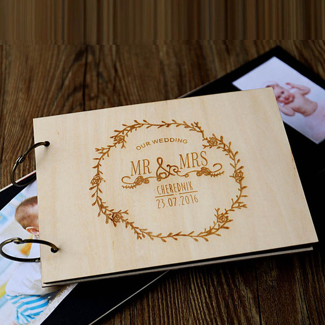 Aliexpress  Buy Rustic Wedding Guest Book, Alternative Guest - where to buy wedding guest books