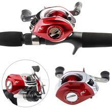 Aluminum Alloy 17+1BB High Speed 7.2:1 Gear Ratio Baitcasting Fishing Reel Support Left / Right Hand Optional Wheel