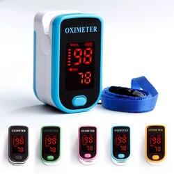 Medical Equipment Finger Pulse Oximeter Saturometro Portable Digital Oximeters Heartrate Monitor LCD Oximetro Pulsioximetro