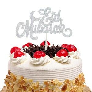 Image 3 - เค้กToppers Flags Glitter Eid Mubarakเด็กวันเกิดCupcake Topperงานแต่งงานBaby Shower PARTY Ramadanมุสลิมเบเกอรี่DIY Xmas
