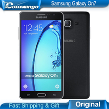 "Original nuevo samsung galaxy on7 g6000 teléfono móvil 5.5 ""13mp quad core 1280×720 dual sim smartphone 4g lte desbloqueado móvil teléfono"