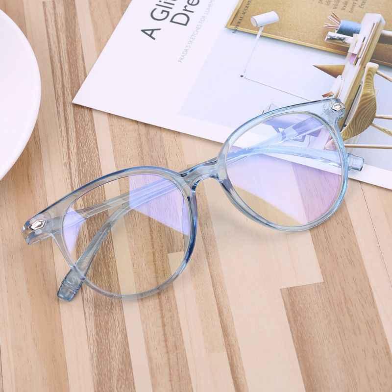 Baru Wanita Pria Kacamata Optik Frame Biru Sinar Komputer Kacamata Fashion Kacamata Bingkai