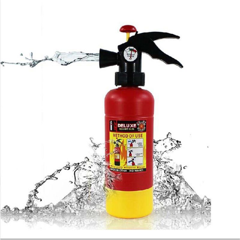 Big Fire Extinguisher Water Toy Fireman Cosplay For Kids Toys Outdoor Summer Beach Toy
