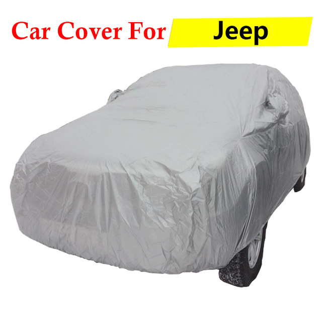 Full Car Cover Auto Outdoor Sun Rain Snow Scratch Resistant Cover Anti-UV Dust Proof For Jeep Grand Cherokee Liberty Patriot