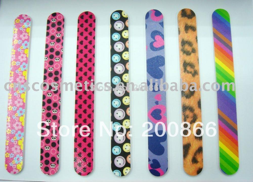 120pcs 2018 New Style Factory Direct Selling dropship nails supplies nail care tools Emery board nail file