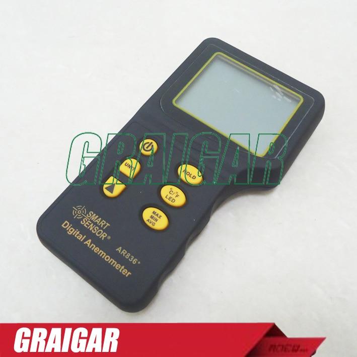 AR836+ Smart Sensor Digital Air Flow Anemometer 2225066030 high quality maf 22250 66030 mass air flow sensor for toyota 22250 66030 22250 66010