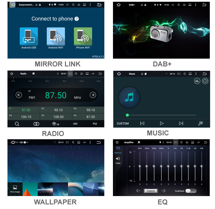 Discount Android 9.0 Octa Core  Car DVD Player Stereo System For Porsche Cayenne With Canbus Wifi GPS Navigation Radio Carplay 31