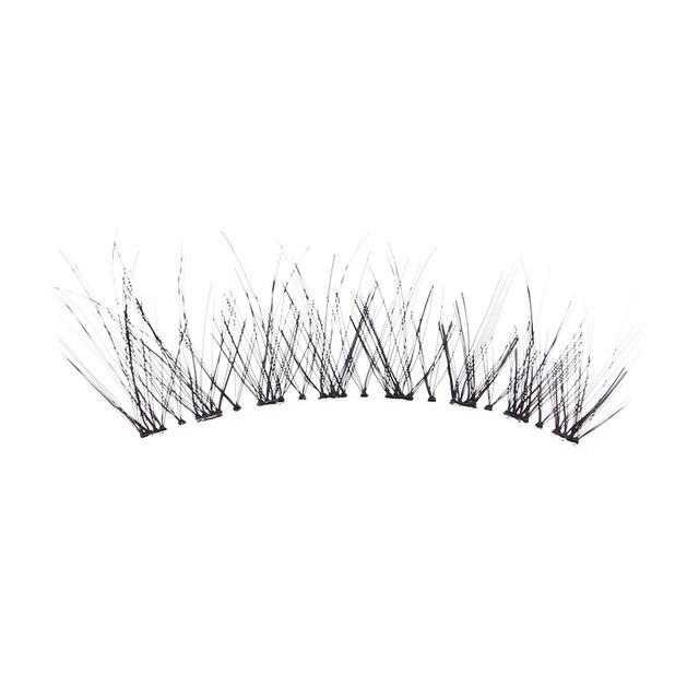 5Pair/Box Eyelashes 3D Artificial Fiber Long Lasting Lashes Women Volume Eyelashes Extension False Eyelashes 1