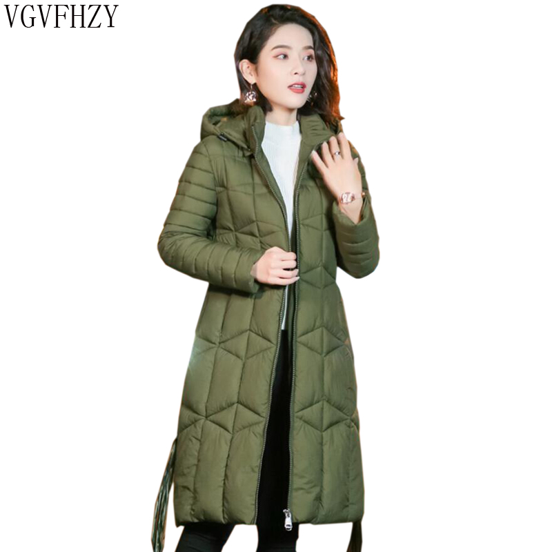 Women Down cotton Jacket New 2018 Winter Jacket Women Thick Snow Wear Winter Coat Lady Clothing Female Jackets   Parkas   LY1120