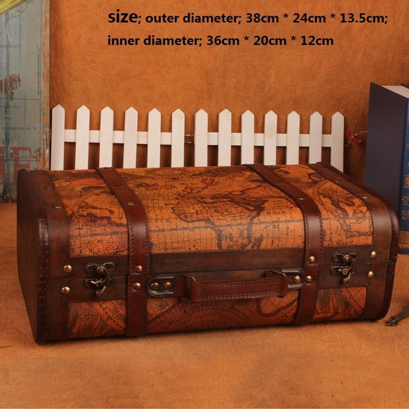 Wooden Box Makeup organizer Storage Box Makeup Suitcase Storage Caixa Boite de rangement Cajas organizadoras household products