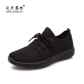 Summer Sneakers Sport Shoes Women 2018 Air Mesh Breathable Flats Running Shoes for Women Fitness Travel Walking Jogging Shoes tênis masculino lançamento 2019