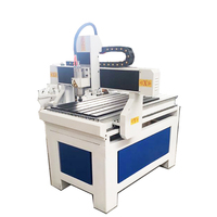 Low price!3 axis CNC router machine/wood router machine 6090/9060 with 2.2KW water cooling spindle power for wood engraving