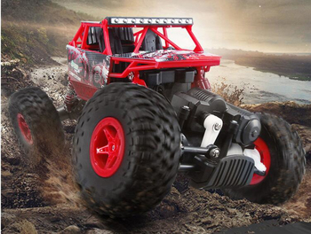 New high end Electric RC Cars 1:18 3CH Off-road Vehicles 2.4G 4wd bigfoot Remote Control Crawlers Rally climbing Kids Toys
