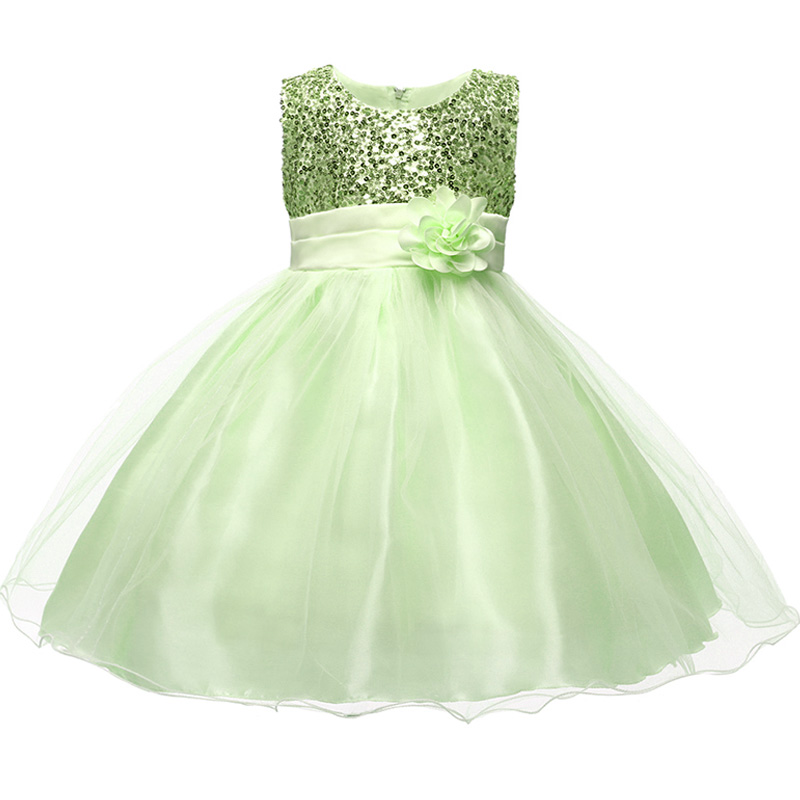 HTB1pjElaU rK1Rjy0Fcq6zEvVXaw Princess Flower Girl Dress Summer Tutu Wedding Birthday Party Dresses For Girls Children's Costume New Year kids clothes