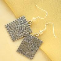 Great Value Brand Product Hot Selling Newest 18K Rose Gold Enamel Ellipse Jewelry Earrings Pendant Drop