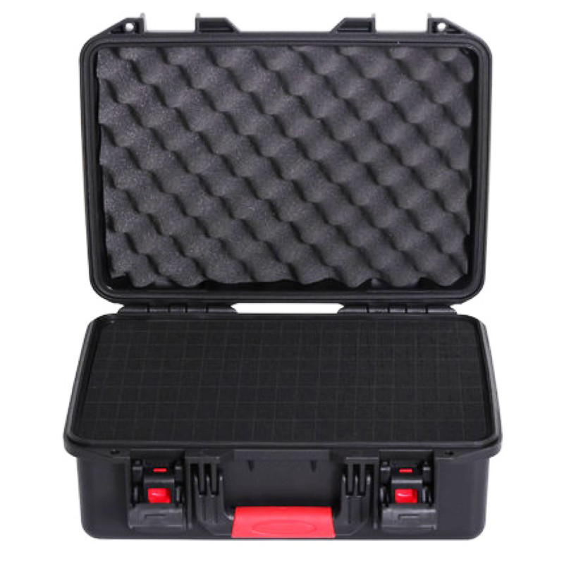 Tool Case Suitcase Toolbox Impact Resistant Sealed Waterproof Safety Case Equipment Camera Case Instrument Box With Pre-cut Foam